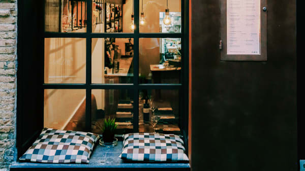 Nuestra entrada - La Tere Gastrobar, Barcelona