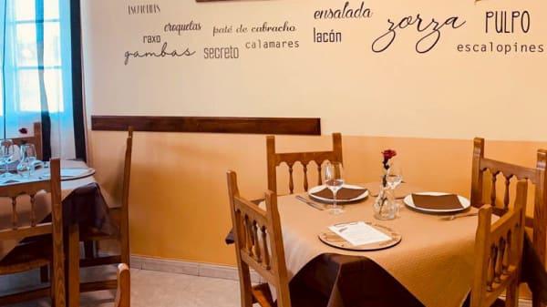 Sala - O xantar de pazos, Vilaframil