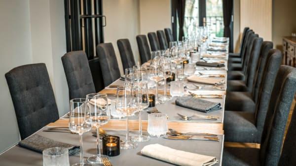 Vue de la salle - Restaurant Atrio, Brussels