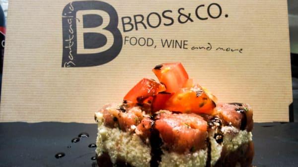 Suggerimento del chef - B. Bros & Co., San Remo