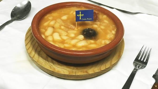 Suggerimento dello chef - Casa Paco, Patones