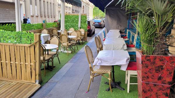 Terrasse  - Bistrot Bassano, Paris