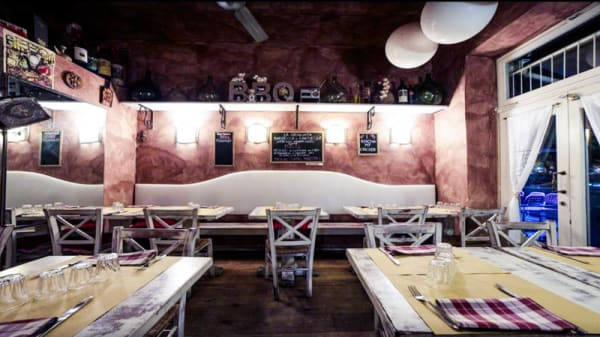 La sala - Trattoria BBQ Firenze, Firenze