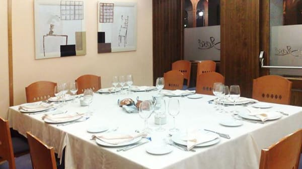 Vista sala - Restaurante José, Segovia