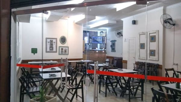 Vista da sala - Ritorna Pizzas, São Paulo