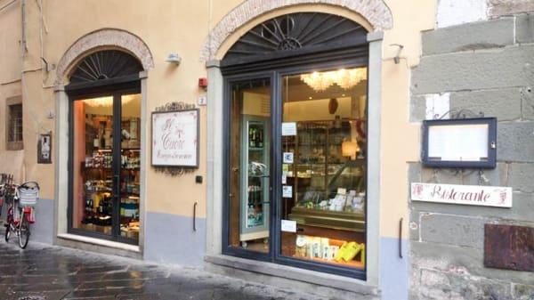 Entrata - Il Cuore, Lucca