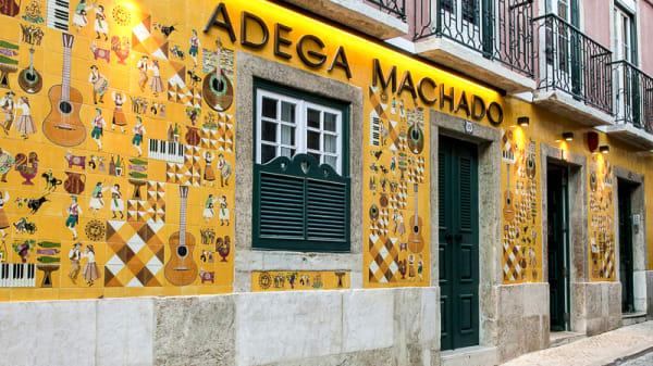 Fachada - Adega Machado, Lisbon