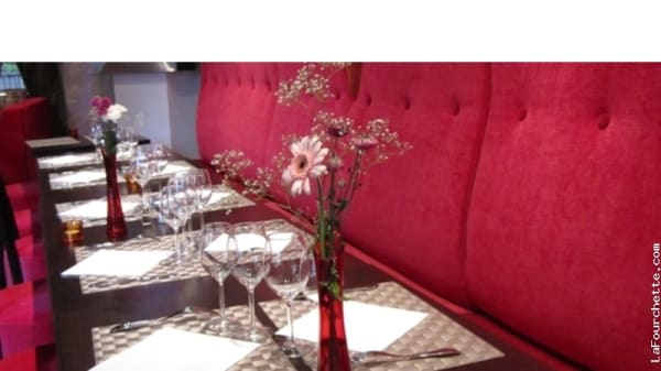 Table dressée - Le Mawby´s, Valmondois