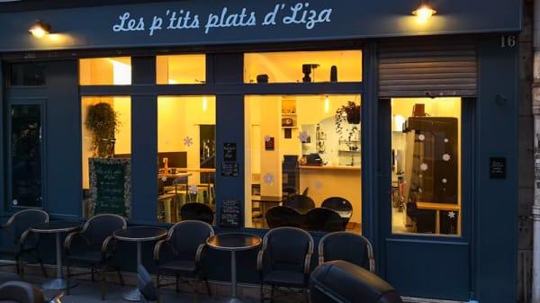 Devanture - Les P'tits Plats d'Liza, Paris
