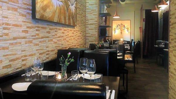 Restaurangens rum - Les Cedres, Stockholm
