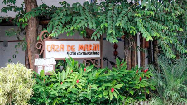fachada - Casa de Maria Bistrô, Campinas