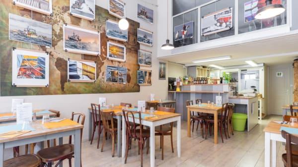 Vue de la salle - Simple Food, Lyon