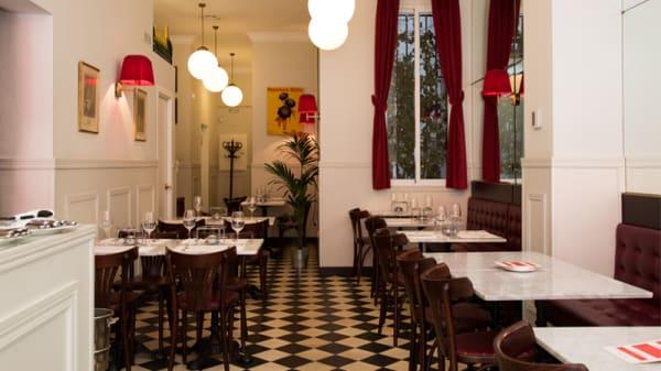 Vista Sala - L'Entrecote Café de París - Conde de Aranda, Madrid