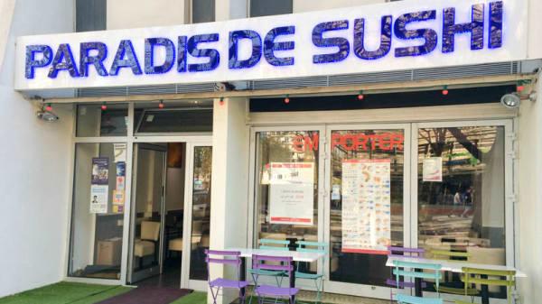 Devanture - Paradis de Sushi, Paris
