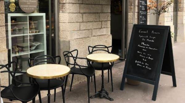 Terrasse - L'Orient Pereire, Paris