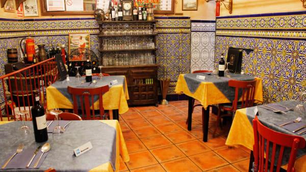 Salón - Taberna Oliveros, Madrid