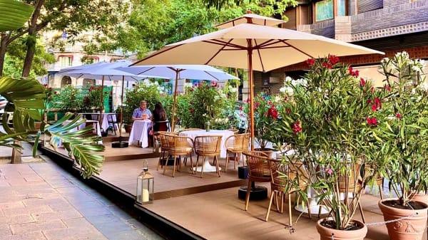 Terraza - Pante Cucina Italiana, Madrid