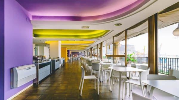 Sala del ristorante - Terrazza Marine, Palermo