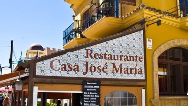 Vista de la fachada - Casa José María, Zahara De Los Atunes