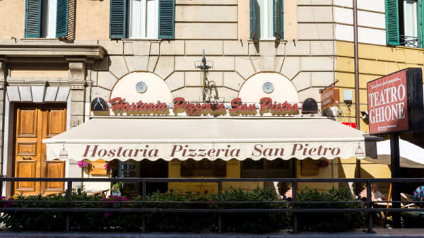 Facciata - Hostaria San Pietro, Rome