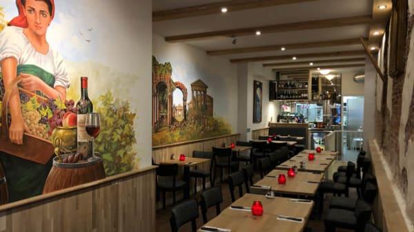 Het restaurant - Il Boccalino, Amsterdam
