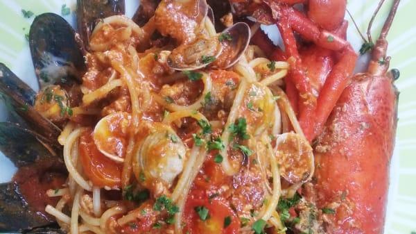 Spaguetti all astice(Bogavante) - Osteria da Rudy, Barcelona