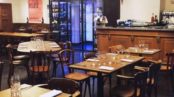 Salon du restaurant - L'Oseille, Paris