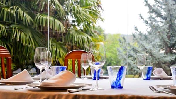 Vista del interior - La Parrilla - Hotel Bedunia, La Bañeza