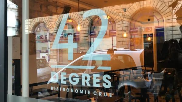 Entrée - 42 Degrés, Paris