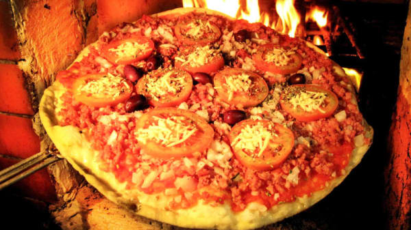 Pizza 70 anos, tradicional da casa! - Pizzaria Bruno Largo Da Matriz, São Paulo