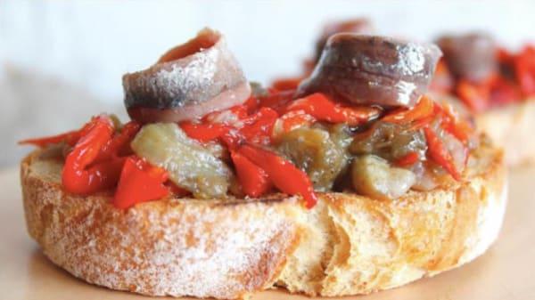 Sugerencia del chef - Cal Ferrer, Borreda