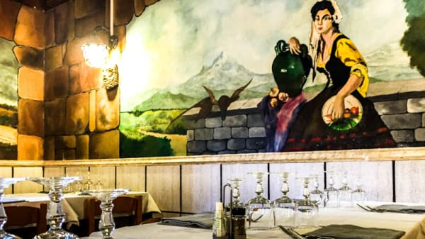 Particolare sala - Al Tinello d'Abruzzo, Rome