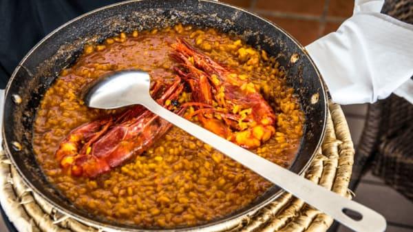 Plato - El huerto Restaurante, Conil de la Frontera