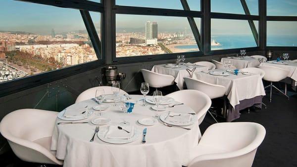 vista interior - Torre d'Alta Mar, Barcelona