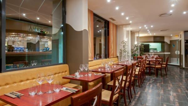 Salle du restaurant - La Loggia, Clichy