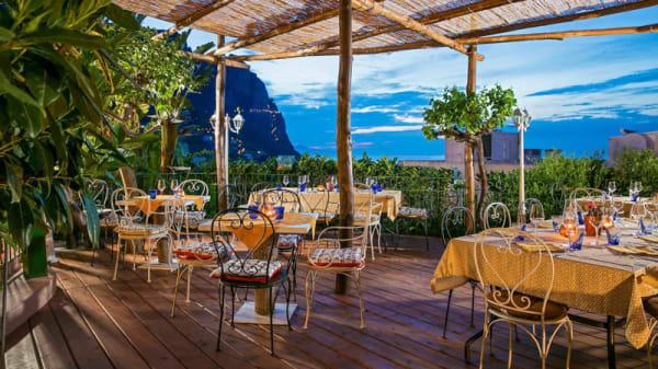 Terrazza - Villa Jovis, Capri