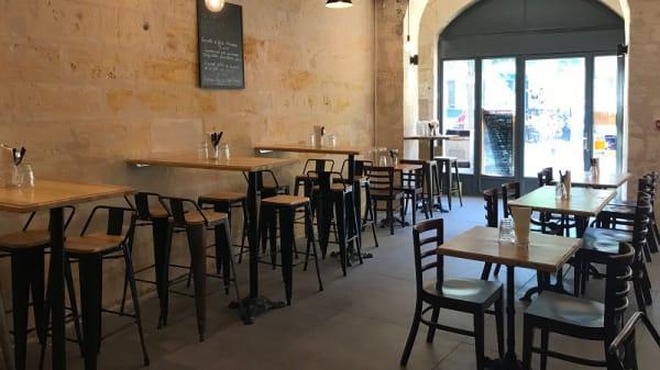 Salle du restaurant - Les Bons Drôles, Bordeaux