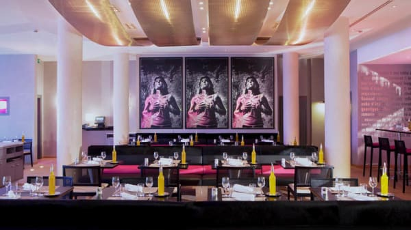 Aperçu de l'intérieur - Solaris Restaurant - Hôtel Radisson Blu, Marseille