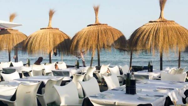 terraza - Basilio Beach, Marbella