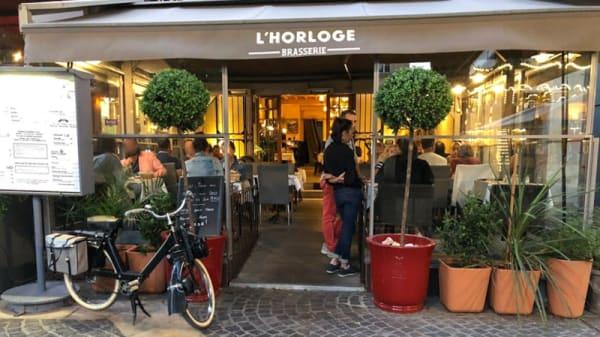 Devanture - Brasserie de l'Horloge, Avignon