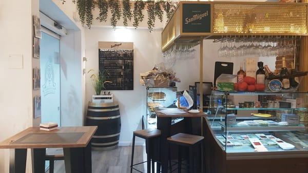 Vista sala - La gourmet de Susana, Madrid