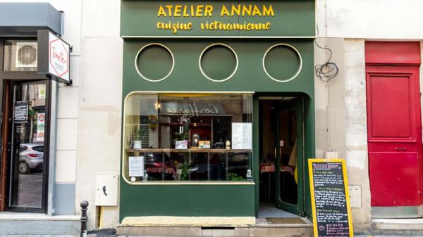 Entrée - Atelier Annam, Paris