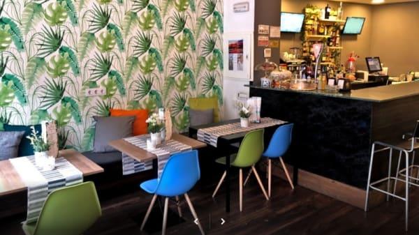 Interior - Que Chevere Restaurant, Madrid
