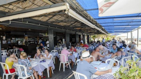 Terraza - Chiringuito Pepes Bar, Marbella