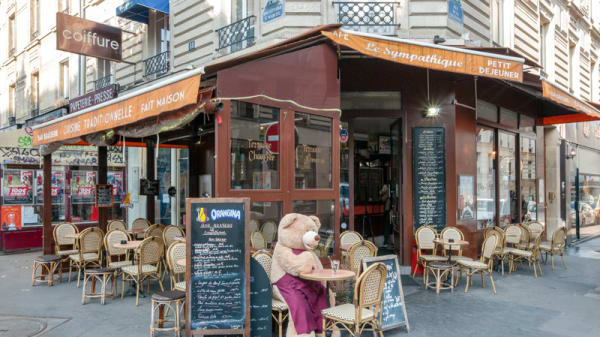 Terrasse - Le Sympathique, Paris