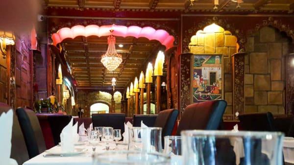 Salon du restaurant - Palais de l'Inde, Paris