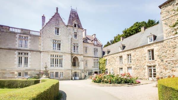 Vue façade - Château du Val, Planguenoual