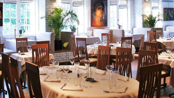 Salle du restaurant - Carte Blanche, Villeneuve-d'Ascq