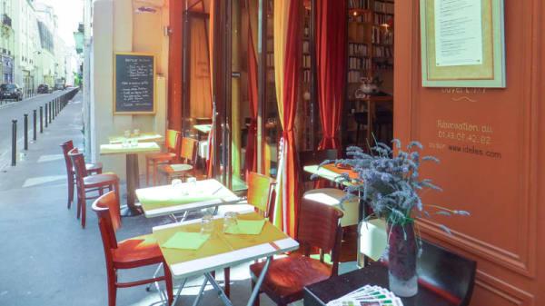 La terrasse - Idelès, Paris