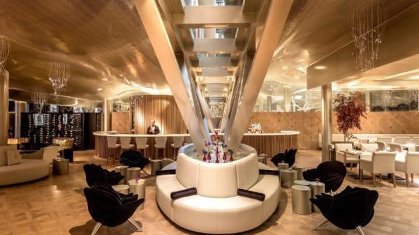 Vista del interior - Hall0 Cocktail Bar - Monument Hotel 5*GL, Barcelona
